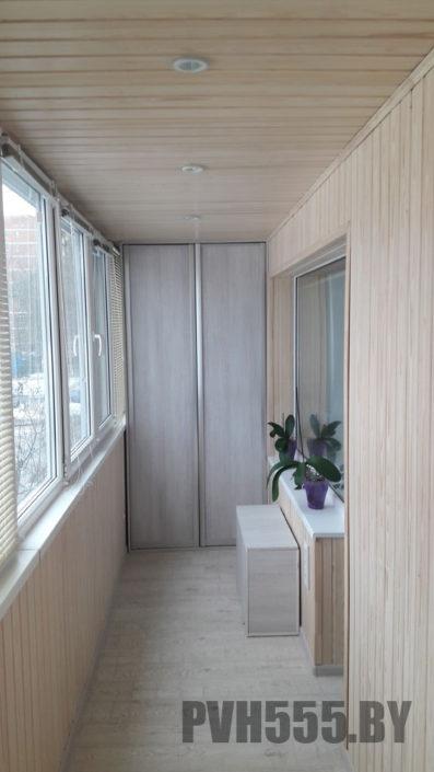 Профессиональная отделка балкона под ключ в Минске