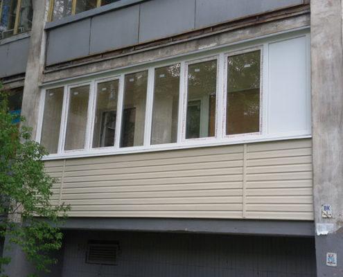 Теплое остекленение балконов