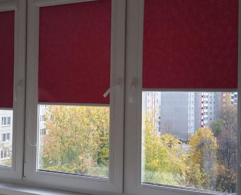 Монтаж роль штор в Минске