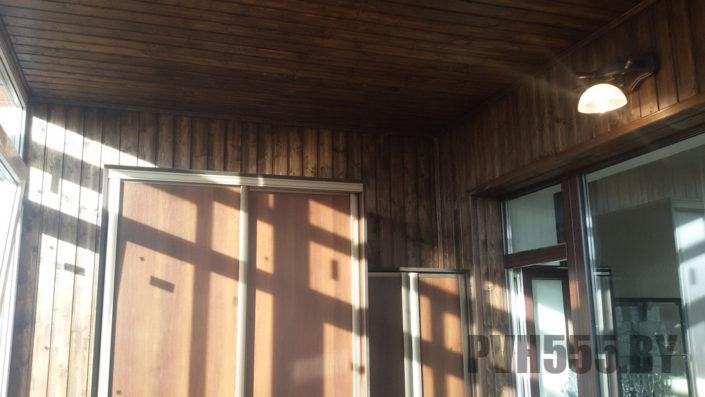 Изготовление раздвижных шкафов на балкон 1