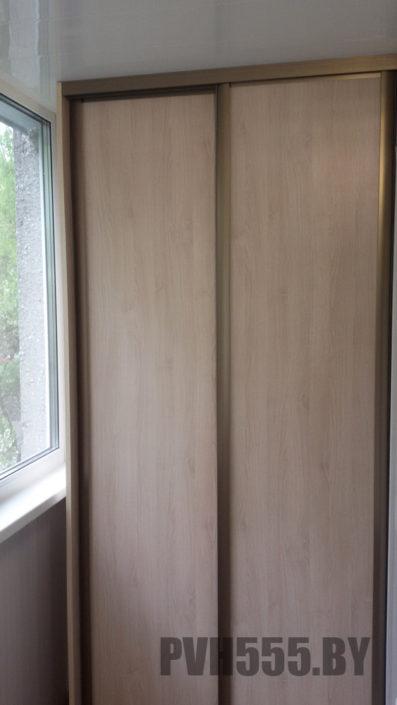 Изготовление раздвижных шкафов на балкон 12