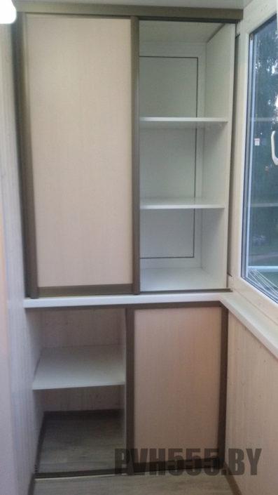 Изготовление раздвижных шкафов на балкон 19