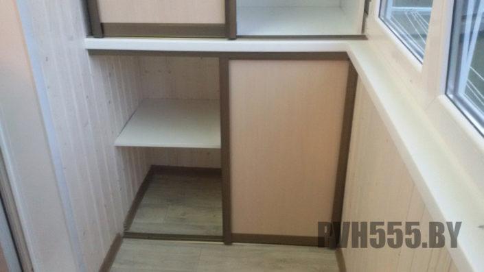 Изготовление раздвижных шкафов на балкон 20