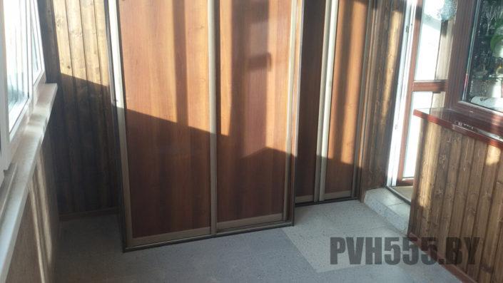 Изготовление раздвижных шкафов на балкон 3