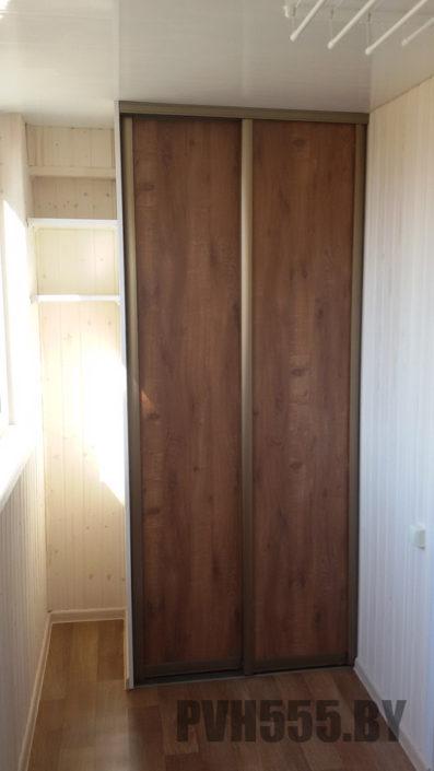 Изготовление раздвижных шкафов на балкон 9