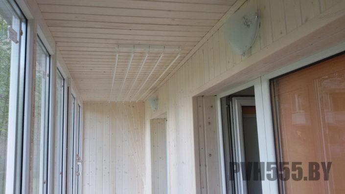 Отделка оконных откосов на балконе 1