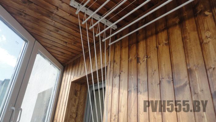 Отделка оконных откосов на балконе10