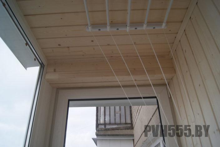 Отделка оконных откосов на балконе 4