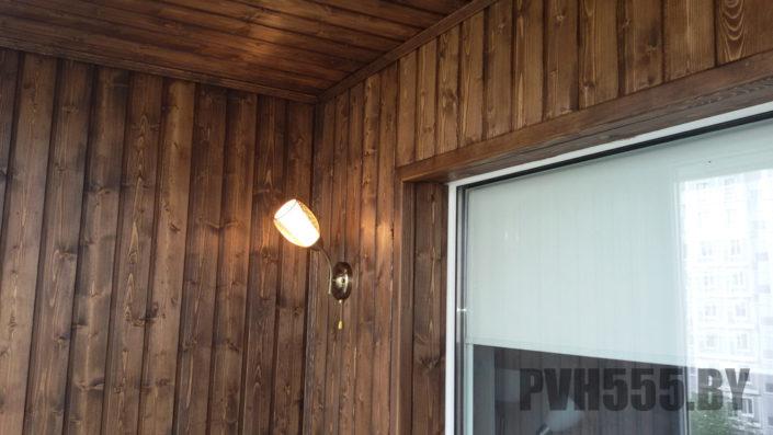 Отделка оконных откосов на балконе 8