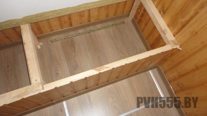 Люк на балконе 4 PVH555