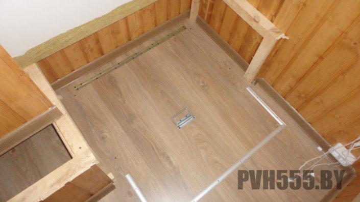Люк на балконе 5 PVH555