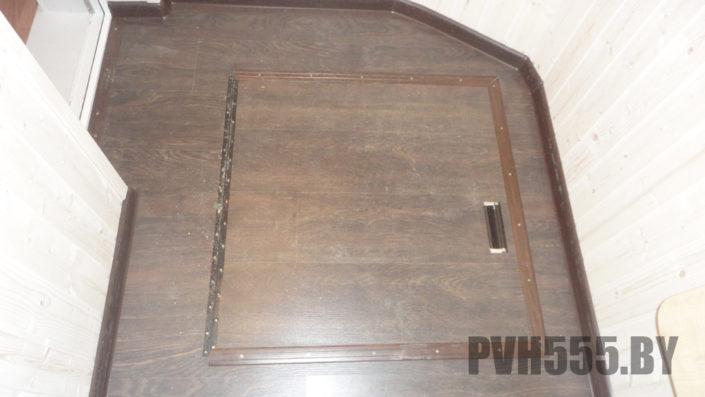 Люк на балконе 7 PVH555
