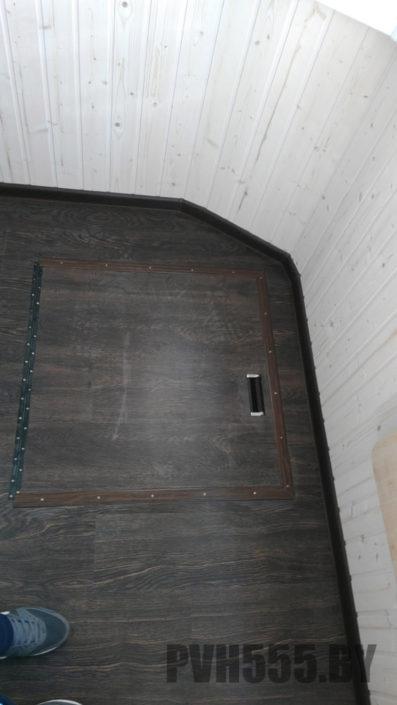 Люк на балконе 8 PVH555
