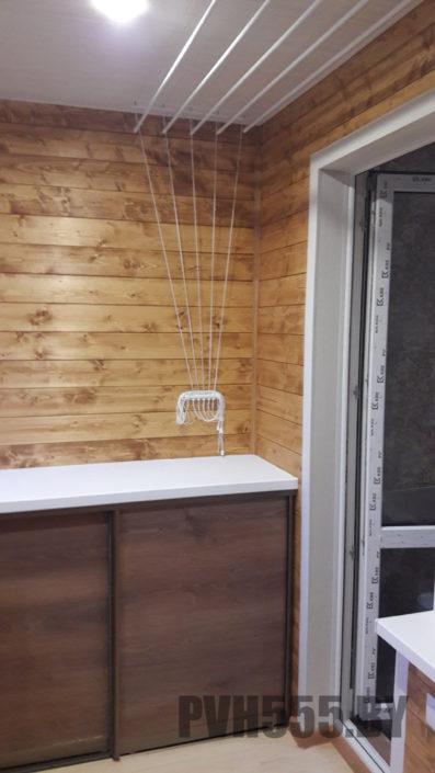 Изготовление нижних раздвижных шкафов на балкон 1