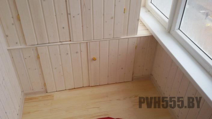 Изготовление распашных шкафов на балкон 17