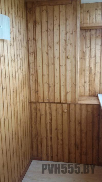 Изготовление распашных шкафов на балкон 19
