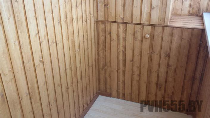 Изготовление распашных шкафов на балкон 20