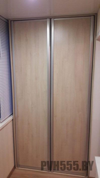 Изготовление распашных шкафов на балкон 3