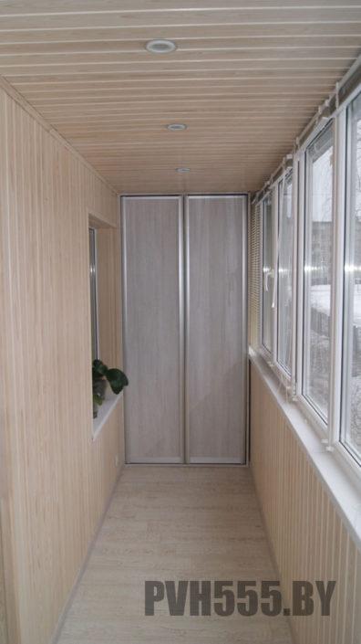 Изготовление распашного шкафа на балкон