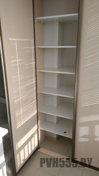 Изготовление распашных шкафов на балкон 6