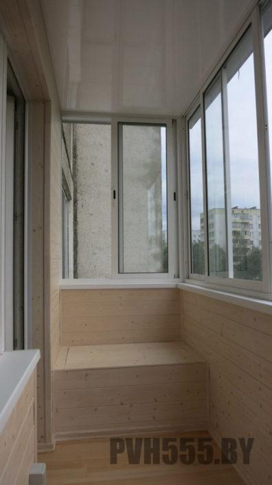 Изготовление тумб и ящиков на балкон 1-2