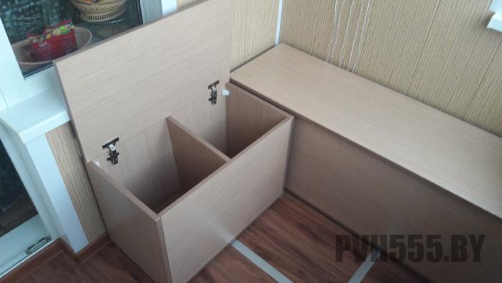 Изготовление тумб и ящиков на балкон 2