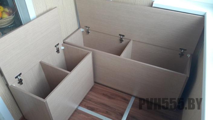 Изготовление тумб и ящиков на балкон 3