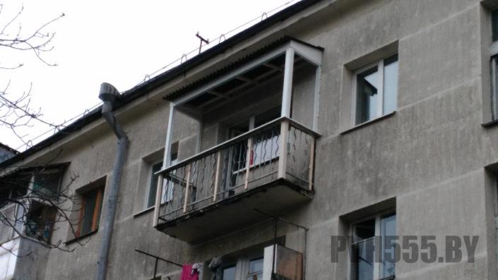 Козырьки для балкона 1