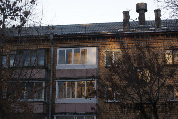 Козырьки для балкона 2