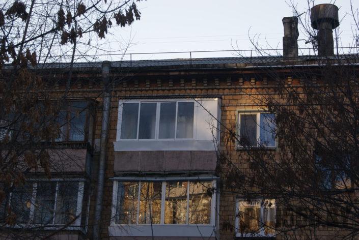 Козырьки для балкона 3