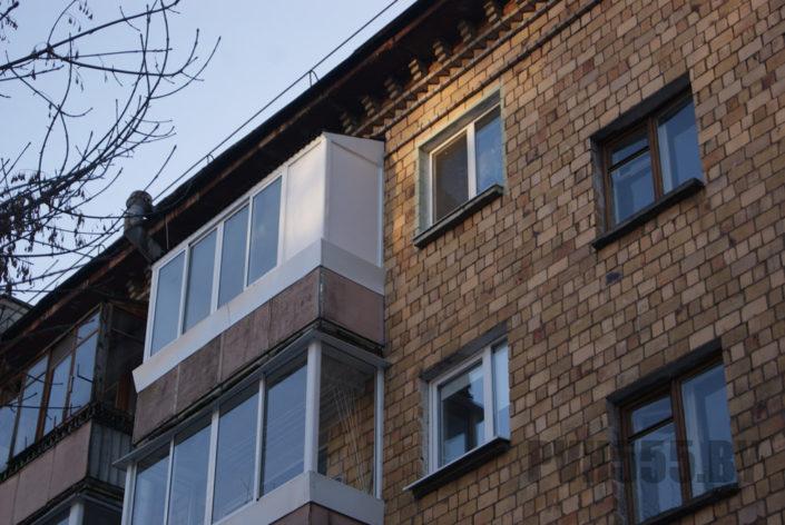 Козырьки для балкона 4