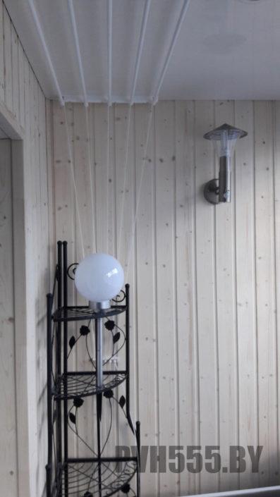 Светильник на балконе 3