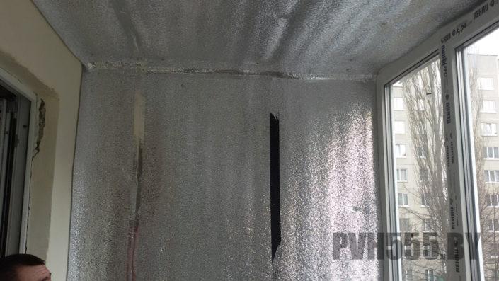 Утепление балкона пенофолом утеплить балкон пенофолом.