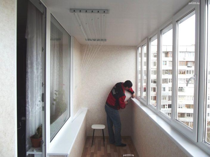 ремонт на балконе в минске